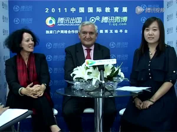 法国前总理及驻华大使截图