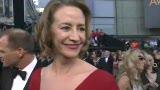 红毯采访珍妮·麦克蒂尔