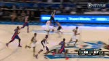 NBA新秀挑战赛最佳扣篮 考辛斯单臂劈扣震惊全场
