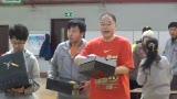视频:张卫平训练营开营 为优秀学员颁发奖品