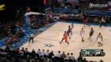 NBA新秀挑战赛最佳助攻 卢比奥背后盲传莫里斯劈扣