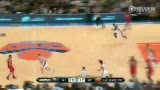 尼克斯vs篮网半场 林书豪与德隆上演复仇大战