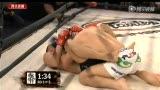 武林传奇吐尔逊vs姚红刚末节 吐尔逊重摔险胜
