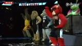 NBA吉祥物激情演绎大热单曲 芭蕾摇摆扭屁股
