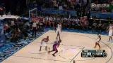 NBA新秀挑战赛最佳抢断 门罗恶意搅局送长传助队友暴扣