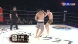 悠羽辉vs森布朗末回合 裁判一致判定森布朗获胜