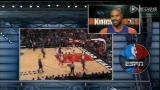 视频:尼克斯vs公牛第三节 甜瓜无奈粗暴防守