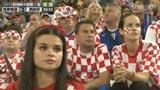 视频:克罗地亚队回家球迷默然 双方教练拥抱