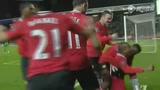 进球视频:瓦伦西亚横敲 阿什利-扬劲射破门