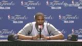 视频:G3赛前韦少答记者 笑对球队慢热问题