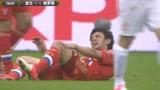 视频:波兰斯基上黑腿反遭铁膝盖 引两败俱伤