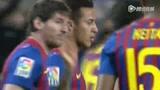 进球视频:梅西任意球破门 封神之路永不止步