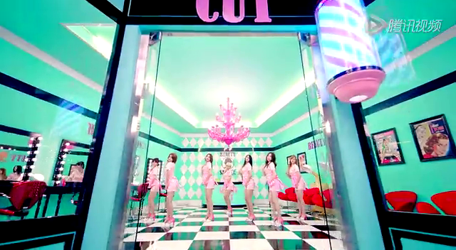 AOA《短裙》MV预告截图