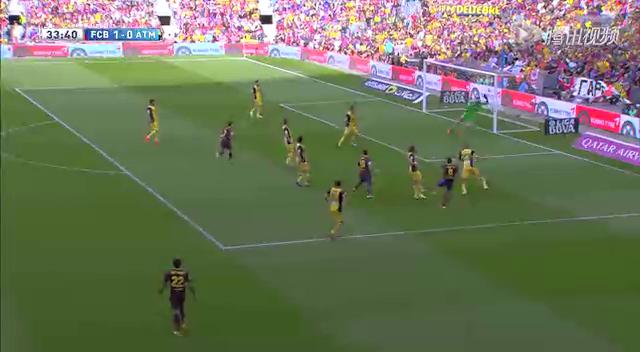 【进球】梅西禁区胸部做球 桑切斯小角度爆射破门截图
