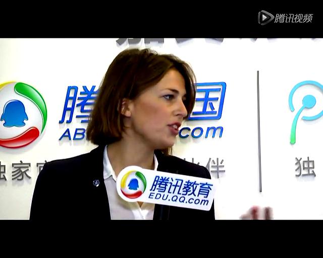 2013中国国际教育展:斯德哥尔摩大学 卡罗琳娜截图
