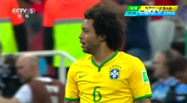 [巴西集锦]巴西3-1克罗地亚 内马尔助东道主逆转取胜截图