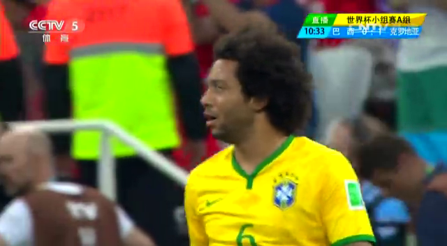 【进球】耶拉维奇门前抢点 马塞洛进巴西首粒乌龙截图