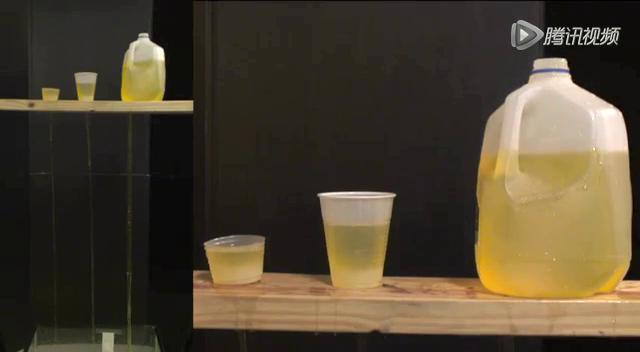 不同体积的水桶排空时间几乎相同截图
