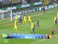 进球视频:卡萨诺小角度劲射 门将黄油手漏球
