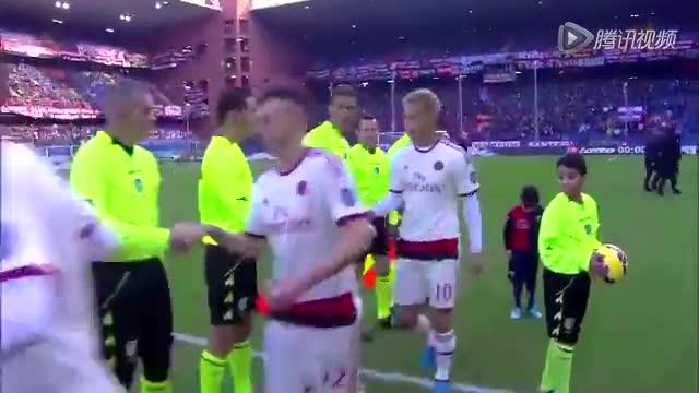 【集锦】AC米兰客场0-1热那亚 安东内利攻入制胜球截图