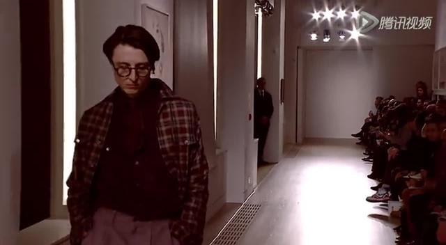 2015伦敦秋冬男装周 Dunhill秀场截图