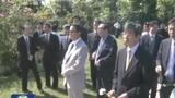 麻生访缅甸参拜日军墓地遭抗议