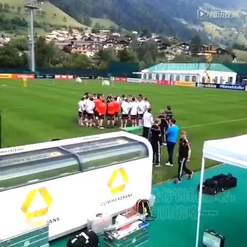 张力探营德国世界杯集训 分组对抗有亮点截图