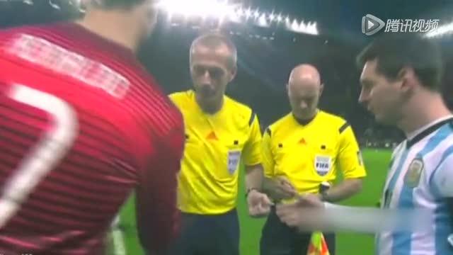 【集锦】葡萄牙1-0阿根廷 梅西C罗交白卷收官截图