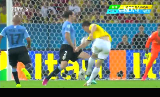 【乌拉圭集锦】0-2不敌哥伦比亚 缺少苏牙集体迷失截图