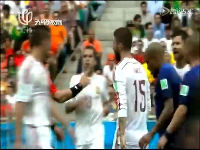 卫冕冠军遭屠杀!荷兰5比1狂胜西班牙截图