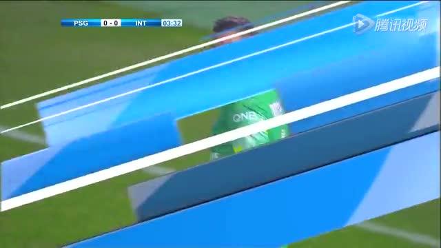 热身赛-国际米兰0-1巴黎 伊布失良机铁腰绝杀截图