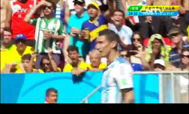 【阿根廷集锦】阿根廷1-0比利时 时隔24年再进四强截图