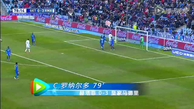 【进球】J罗秀精湛脚法 传中助攻C罗轻松得分截图