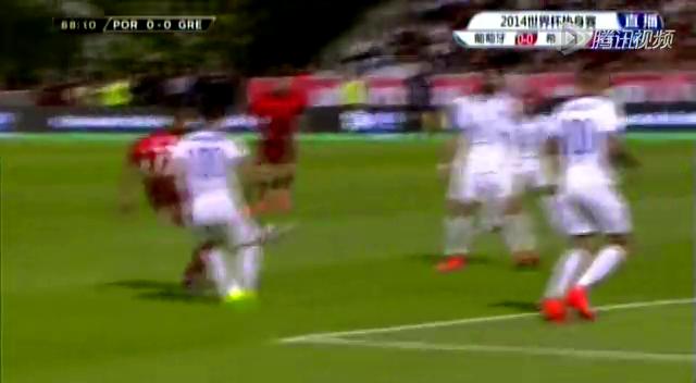 全场集锦:葡萄牙0-0闷平希腊 C罗佩佩因伤缺阵截图