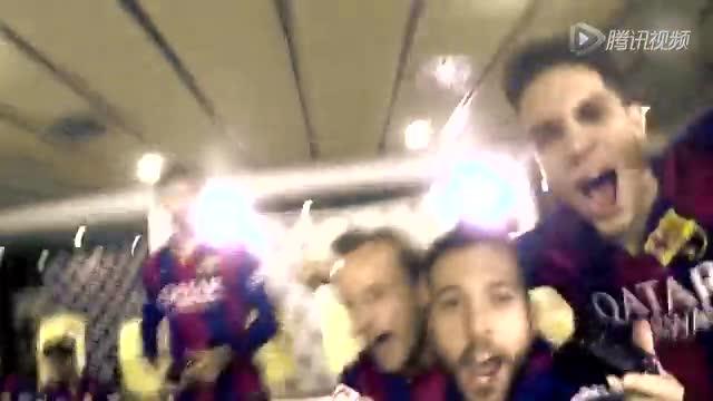 巴萨队内FIFA赛4V4 梅西搭档内马尔加时胜截图