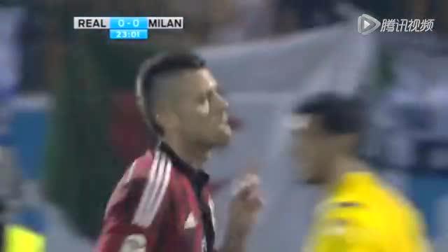 迪拜杯-皇马2-4不敌米兰 C罗破门小法老两球截图
