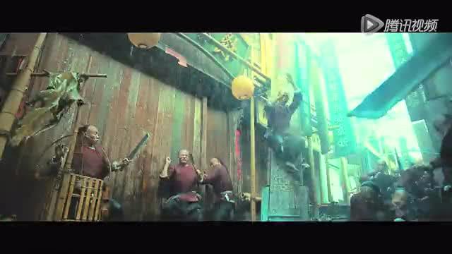 《黄飞鸿之英雄有梦》爆棚版预告 彭于晏全新演绎黄飞鸿截图