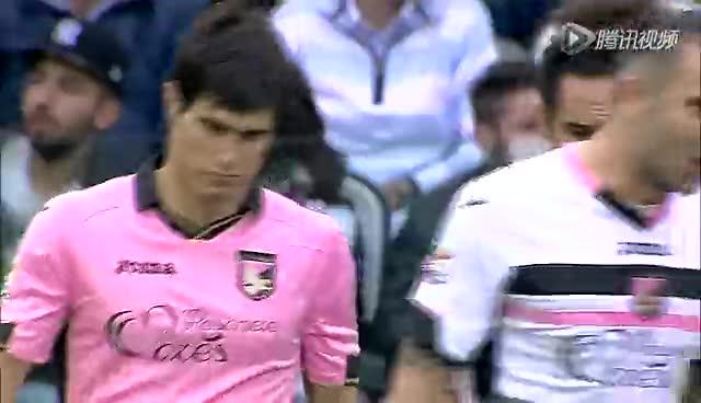 【集锦】尤文2-0巴勒莫 比达尔一球略伦特头槌破门截图
