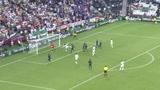 视频:杰拉德任意球助攻秀脚法 助球队平法国