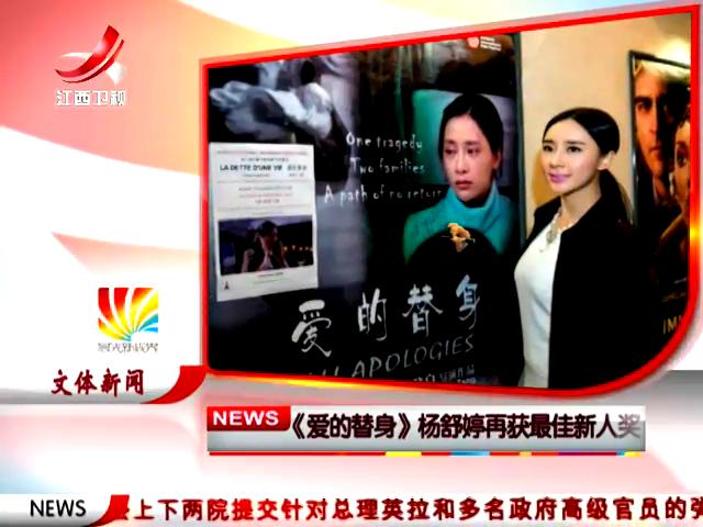 《爱的替身》杨舒婷再获最佳新人奖截图