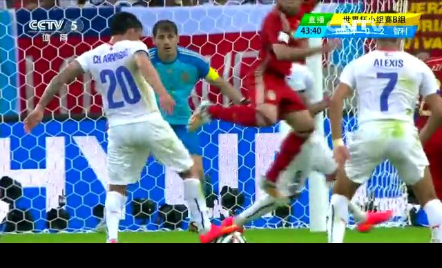 【西班牙集锦】西班牙0-2智利 卫冕冠军提前出局截图