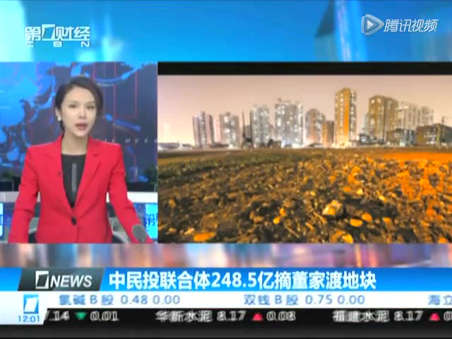 中平易近投结合体248.5亿摘董家渡地块截图
