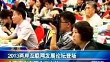 2013两岸互联网发展论坛登场