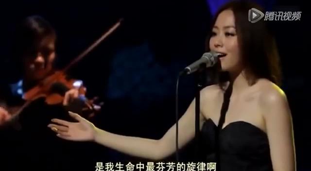 张靓颖倾情献唱《献给母亲的歌》截图