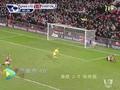 进球视频:拉斐尔直传 范佩西单刀过门将建功