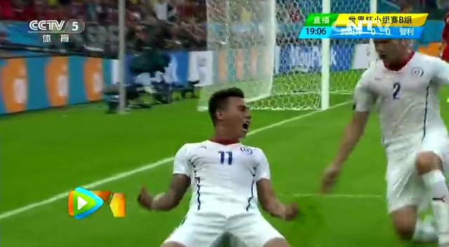 全场集锦:西班牙0-2智利 2负提前出局截图