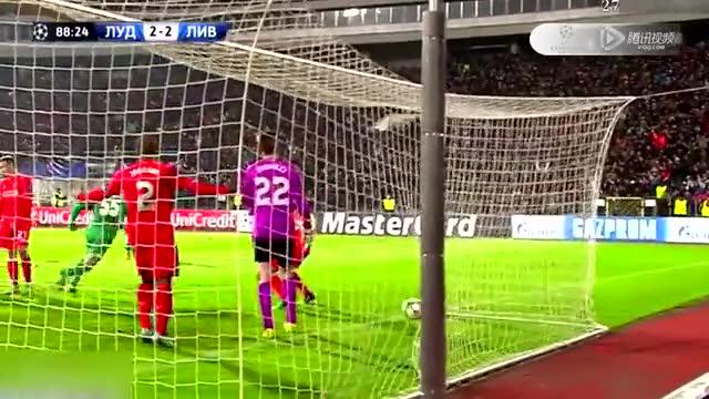 【集锦】利物浦2-2卢多戈雷茨 特尔泽耶夫绝杀救主截图