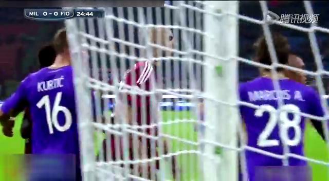 【集锦】AC米兰1-1佛罗伦萨 德容破僵伊利西奇建功截图