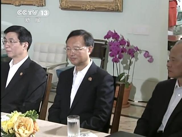 习近平同美国总统奥巴马举行中美元首会晤截图