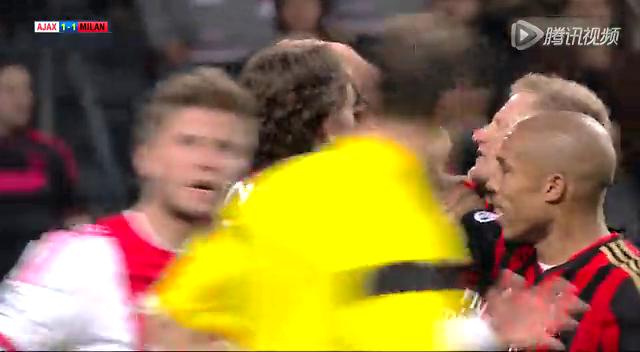 2013-14赛季米兰欧冠全进球 卡卡头槌截图